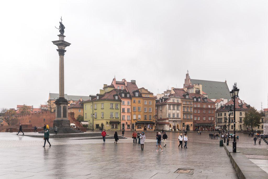 Blick Richtung Warschauer Altstadt